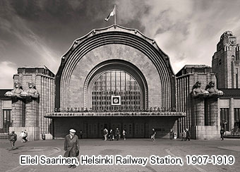 Eliel Saarinen, Helsinki Railway Station, 1907-1919