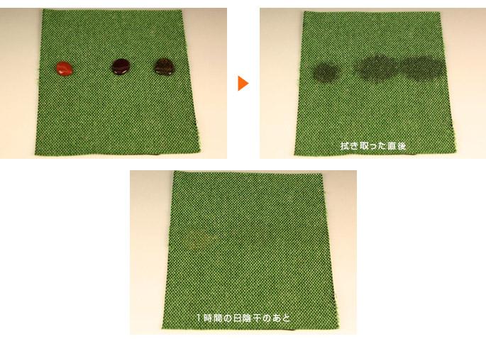 タープグリーン/タープブルー(同組成生地)