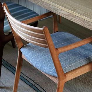 日本で作る椅子「シキファ二チア」